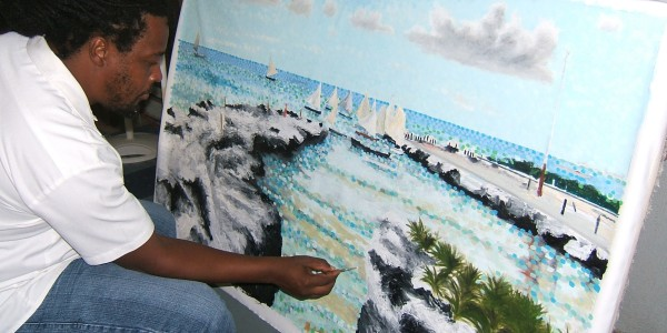 Walkers Art Club in Cayman Brac Welcomes Artist Gordon Solomon